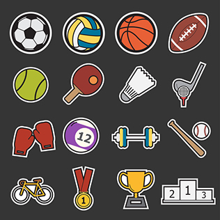 Sport graphic