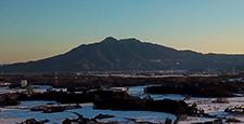 筑波山 雪景色