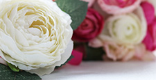 bridal bouquet, boutonniere, rose