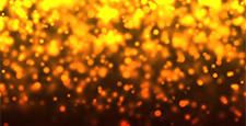 Loopable abstract particle lights bokeh circles