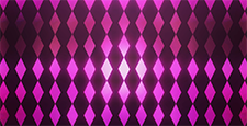 3D diamond pattern loop background