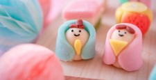 Hina-sama's top-quality sweets, inner back and dolls, peach festival