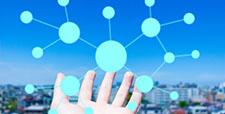 IT オンラインネットワークイメージ素材