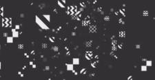 サイバー 幾何学模様 アブストラクト [ループ対応] [別Verあり]