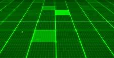 デジタル背景3D(緑)